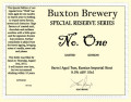 Buxton Special Reserve No. One [Barrel Aged Tsar]