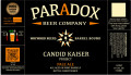 Paradox Beer Candid Kaiser - American Style Pale Ale