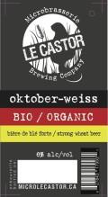 Le Castor Oktober-Weiss