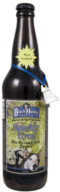 Black Husky Beware of Dog Series: Sparkly Eyes