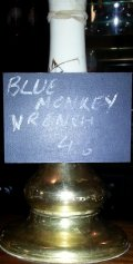 Blue Monkey Monkey Wrench