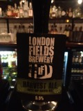 London Fields Harvest Ale 2012