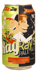Center of the Universe Ray Ray's Pale Ale