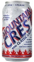 Mountain Crest Classic Lager
