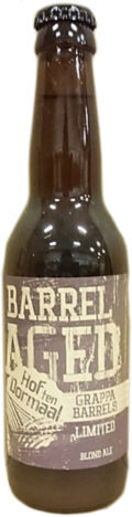 Hof Ten Dormaal Barrel-aged Project: No. 9 Grappa