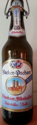 Hacker-Pschorr Münchner Alkoholfrei  Naturtrübes Helles