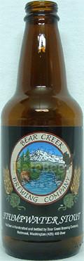 Bear Creek Stumpwater Stout - Stout