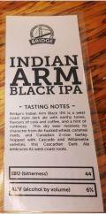 Bridge Indian Arm Black IPA