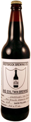 Westbrook / Evil Twin Mini Growler - Imperial Stout