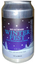 Back East Winterfest Ale