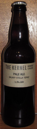 The Kernel Pale Ale Galaxy Stella Topaz