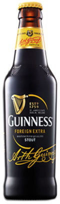 Guinness Foreign Extra Stout (Malaysia/Hong Kong/China)