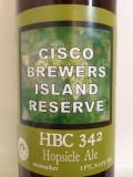 Cisco Island Reserve HBC-342 Hopsicle Ale