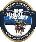 Maxim The Great Escape