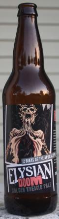 Elysian 12 Beers of Apocalypse #12 - DOOM Golden Treacle Pale - American Pale Ale