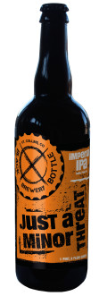 Black Bottle Just a Minor Threat - Imperial IPA