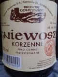 Gontyniec Gniewosz Korzenne Piwo Ciemne - Spice/Herb/Vegetable