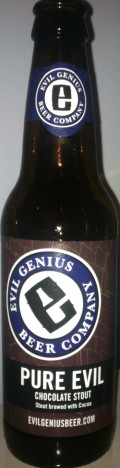 Evil Genius Pure Evil Chocolate Stout