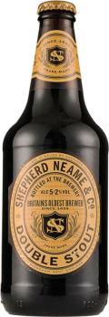 Shepherd Neame Double Stout (5.2% - Bottle) - Stout