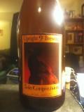 Upright Sole Composition: Jaune Quatre (Pinot Noir Barrel) - Saison