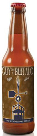 Great Northern Weathervane Series #1: Guy on a Buffalo Coffee Stout