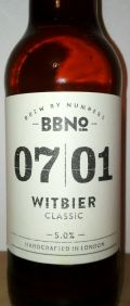 Brew By Numbers 07/01 Witbier