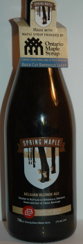 Lake of Bays Spring Maple Belgian Blonde Ale