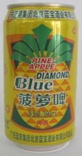 Naale Blue Diamond Pineapple Beer