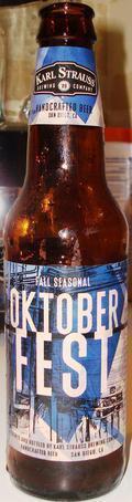 Karl Strauss Oktoberfest Beer