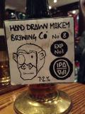 Hand Drawn Monkey No8