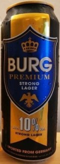 Burg Premium Strong Lager Beer 10%