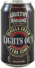 Worthy Lights Out Stout Vanilla Cream Extra Stout