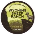 Buxton Special Reserve V Wyoming Sheep Ranch