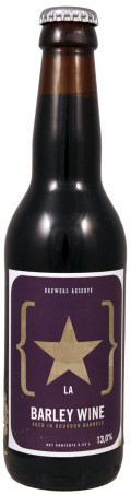 Lervig Brewers Reserve Barley Wine Aged in Bourbon Barrels (13%)