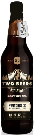 Two Beers Switchback Russian Imperial Stout