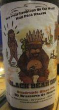 Fleurac Black Bear Beer (Quadruple Black IPA)