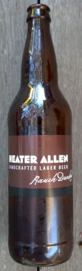 Heater Allen Rauch Dunkel - Smoked