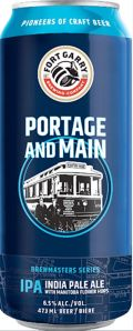 Fort Garry Portage and Main IPA