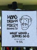 Hand Drawn Monkey What Would Jephers Do?