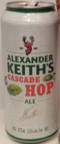 Alexander Keiths Cascade Hop Ale