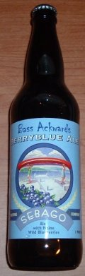 Sebago Bass Ackwards Blueberry Ale - Fruit Beer