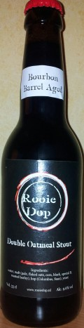 Rooie Dop Double Oatmeal Stout Bourbon Barrel Aged - Imperial Stout