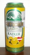 Gletscher Br�u Radler Zitrone