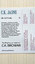 C.K. Browar Jasne (Pils)