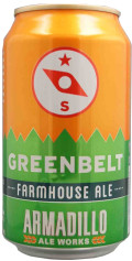 Armadillo Ale Works Greenbelt Farmhouse Ale