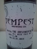 Tempest The Unfermentalist