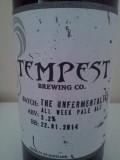 Tempest The Unfermentalist