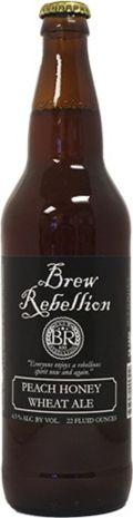 Brew Rebellion Honey Wheat - Peach