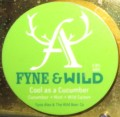 Fyne Ales / Wild  Beer Cool as a Cucumber