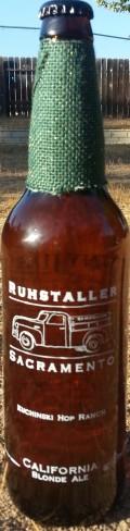 Ruhstaller Sunny Jim�s Blonde Ale